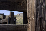 Corral in the Superstition Mountains
