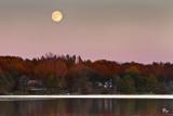 Moonlight over Winans Lake