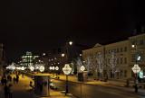 Krakowskie Przedmiescie Illuminated