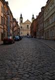 Walking Up Mostowa Street