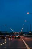 Driving At Nightfall