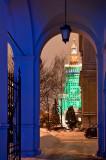 Gateway With Festive Season Colors