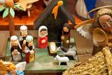 Three Wise Men Visiting Jesus