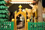 Wooden Gate To Nativity Scene