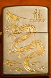 Golden Zippo Dragon