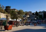 Main Square In Rab
