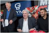 28 aout 2012 Conférence de presse - Stevenson vs George