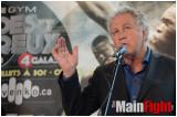 10 oct 2012- Conférence de Presse officielle, George vs Stevenson