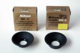 Nikon eyecup DK-4 & DK-2