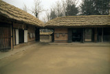 Korean old traditional houses Reala