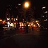 Night scene in Yorkville