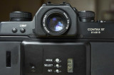Contax ST with DK-17M