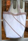 Tote bag 1 (size 35 x 35 cm) reversible. 2011