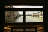 A view from Ponte Vecchio in Firenze