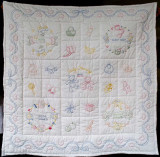 Baby quilt 4 for S 2006