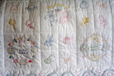 Baby quilt 4 Details
