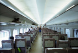 Shinkansen inside Reala