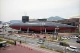 Submarine museum in Kure Reala