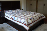 Modified Ocean wave, for queen size bed.  2008 spring