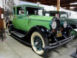 1928 Willys-Knight coupe with rumble seat