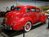1938 Buick Special Sedan in fire engine red