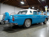 1956 Ford Thunderbird in eye-catching blue