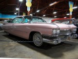 1959 Cadillac Coupe de Ville in soft pink