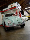 1961 VW Beetle with Morris Minor and Checker Cab wagon