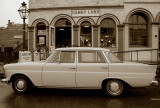 1960s Mercedes 220D in Old Town Sacramento