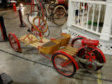 For the coolest kid on the block in 1920; antique Briggs and Stratton go-kart!