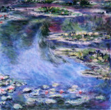 Monets Water Lillies_pastels