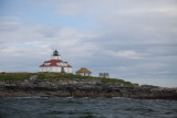 We took a tour of lighthouses from a small boat