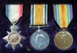 Capt Guy Goldthorps medals