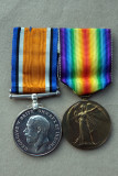 Capt Lawrence Goldthorps WW1 medals
