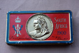 Queen Victoria Chocolate Tin, Boer War