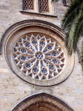 Alcudia Church window