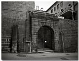 a prison in the city center...
