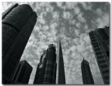 the financial center...