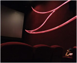 inside the cinema...