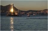 sunset ferry...