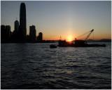 city sunset...