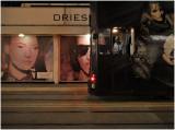 tram stop solitude...