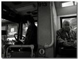 bus driver  & passenger ...
