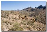 Looking East over Apache Canyon