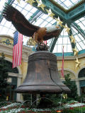 Liberty Bell at the Bellagio