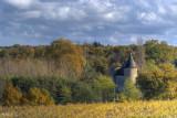 Le chateau  des Hories Gironde France