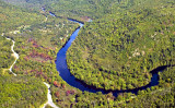 Mauricie from the sky