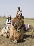 Kysyl Koum Desert - Last pictures with the camels