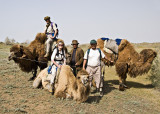Last pictures with the camels