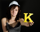 Look at me with your K